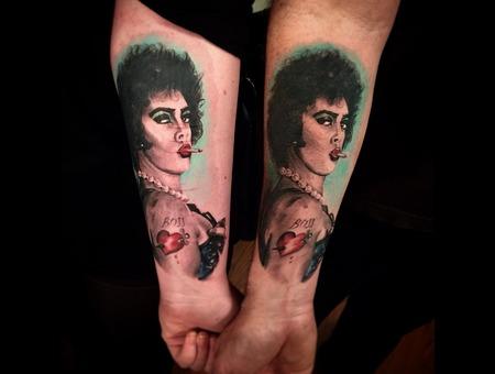 Franknfurter  Rocky Horror  Portraits Forearm