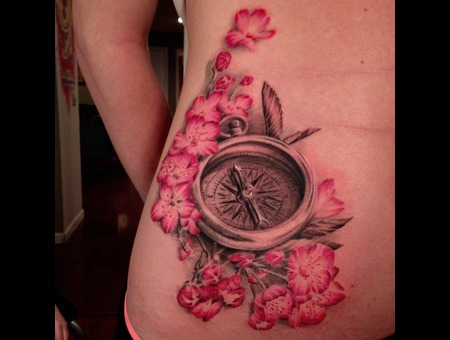 Cherry Blossoms  Flowers  Compass Hip