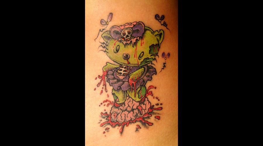 Hello Kitty Zombie Color Thigh