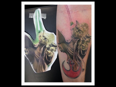 Star Wars  Photo Color Forearm