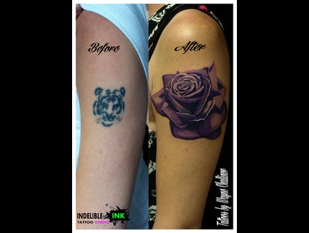 Realistic Rose Cover Up Arm