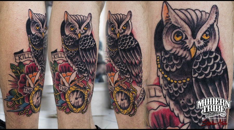 Traditional Owl Lower Leg