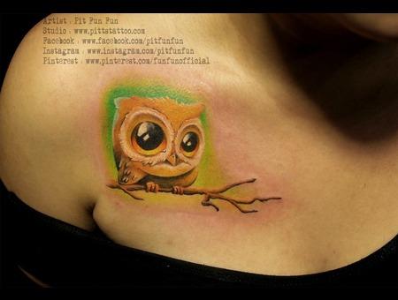 Cute Owl Chest