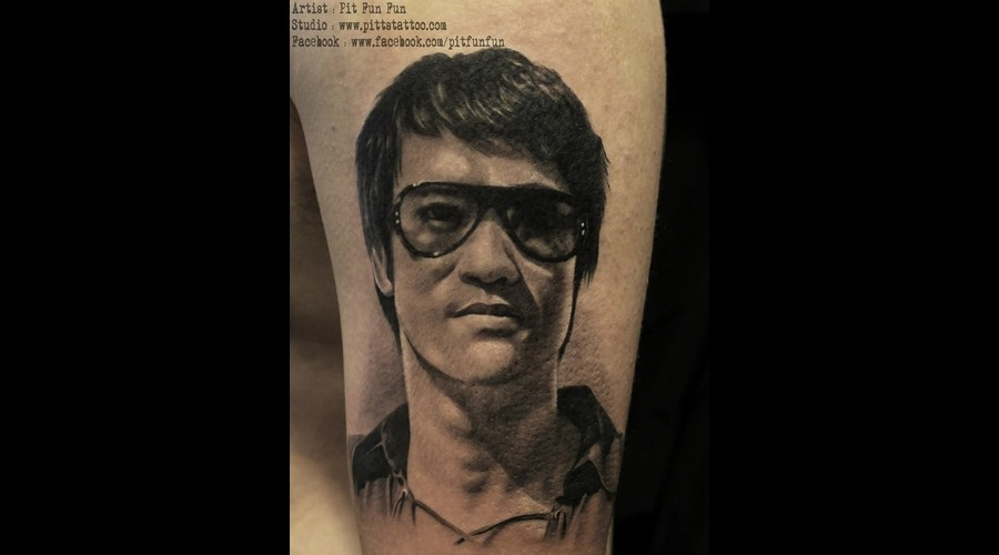 Bruce Lee Arm