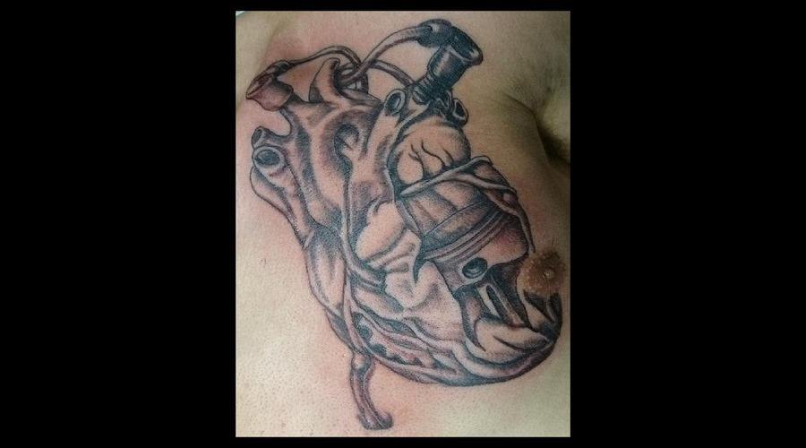 Bio  Mechanical  Heart Chest