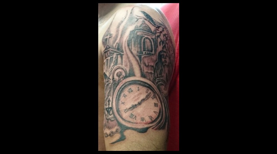 Clock  Angel  Crows  Horror  Arm Arm