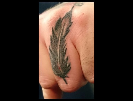 Hand  Finger  Feather  Black  Shaded