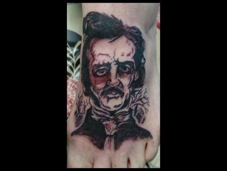 Poe  Edgar  Allen  Foot  Black Foot