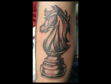 Chess  Knight  Games Forearm