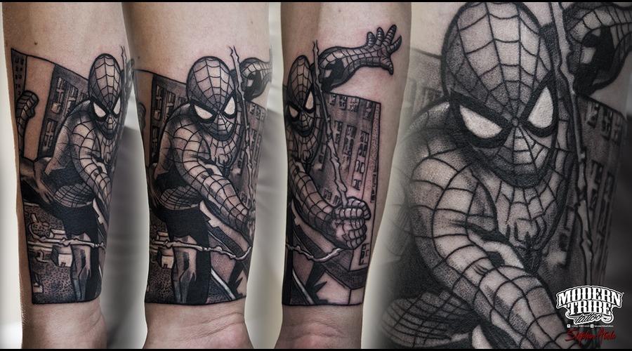 Spider Man Forearm
