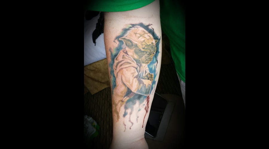 Star Wars  Yoda Forearm