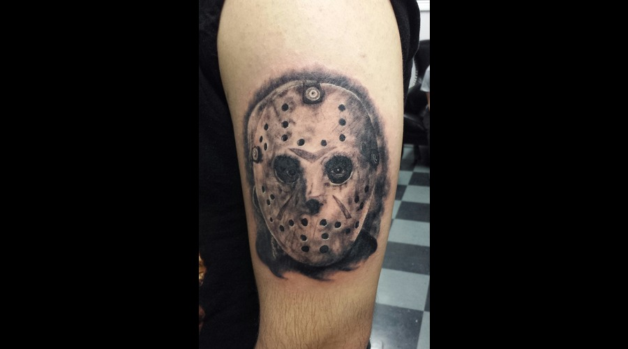 Horror  Jason  Friday The 13th Arm