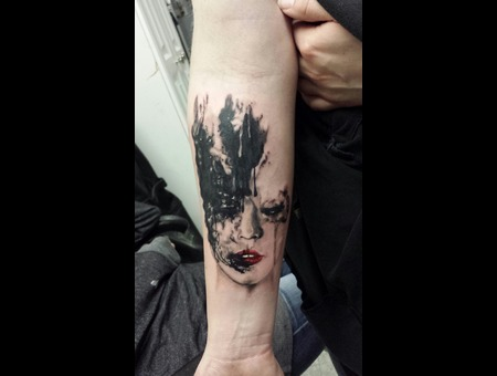 Portrait  Watercolor Forearm