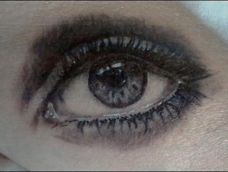 Realistic  Eye Forearm