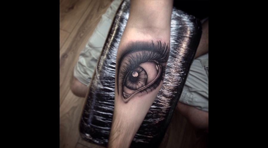 Eye  Forearm