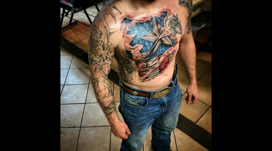 Realism Captain America Chest