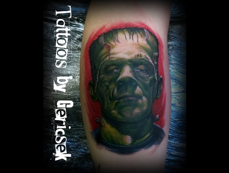 Portrait  Color  Realistic  Frankeinstein   Lower Leg