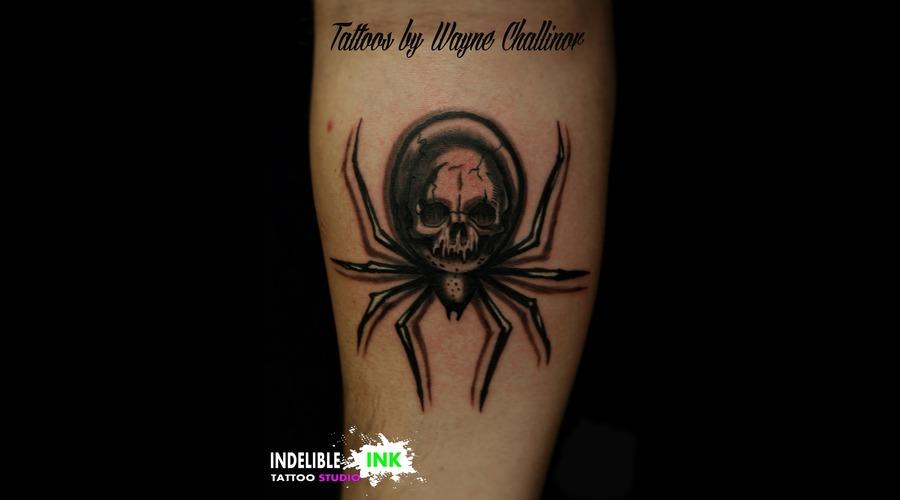 Spider Skull Forearm