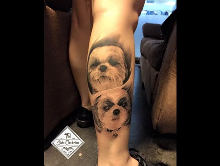Dog Is Awesome Lower Leg
