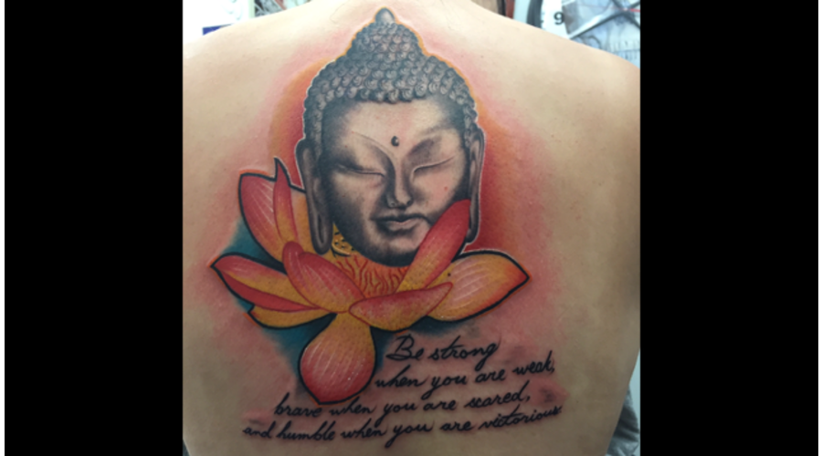 Buddha  Colour  Colour  Lotus   Back