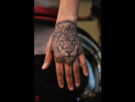 Lion Portrait Tattoo Gaborzsil Zsilvolgyi Arm