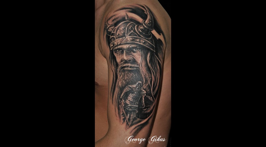 Viking Portrait Arm