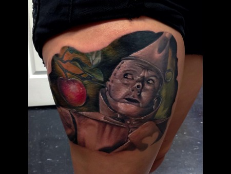 Wizardofoz  Tinman  Realisim  Color Thigh