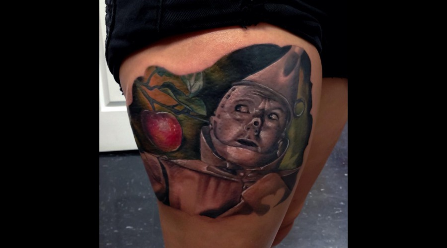 Wizardofoz  Tinman  Realisim  Thigh