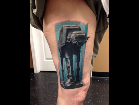Starwars  Realism  Emperialwalker  Color Thigh