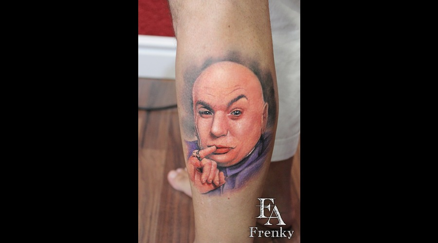 Tattoo Augsburg Neusäss Dr.Evil
