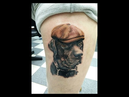 Dog Realism Thigh
