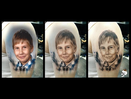 Boy Children Kids Portrait Realism Arm