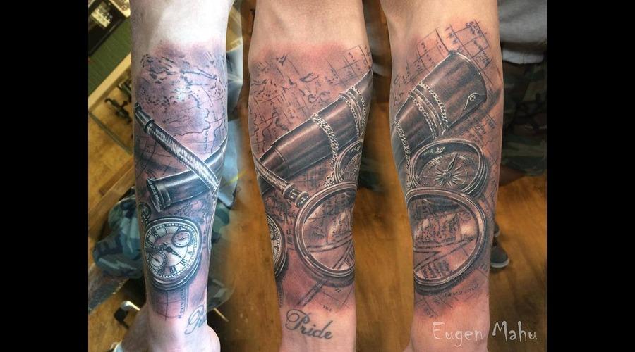 Realistic  Realism  Art  Tattoo Forearm
