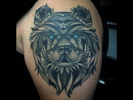 Custom  Healed  Bear Shoulder