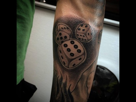 Custom  Dice Forearm