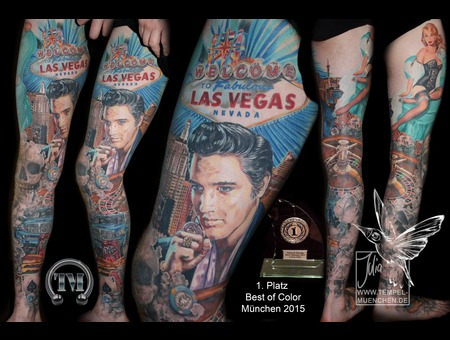 Elvis  Elvis Presley  Las Vegas  Roulette  Jeton  Chips  Burger  Dodge Lower Leg