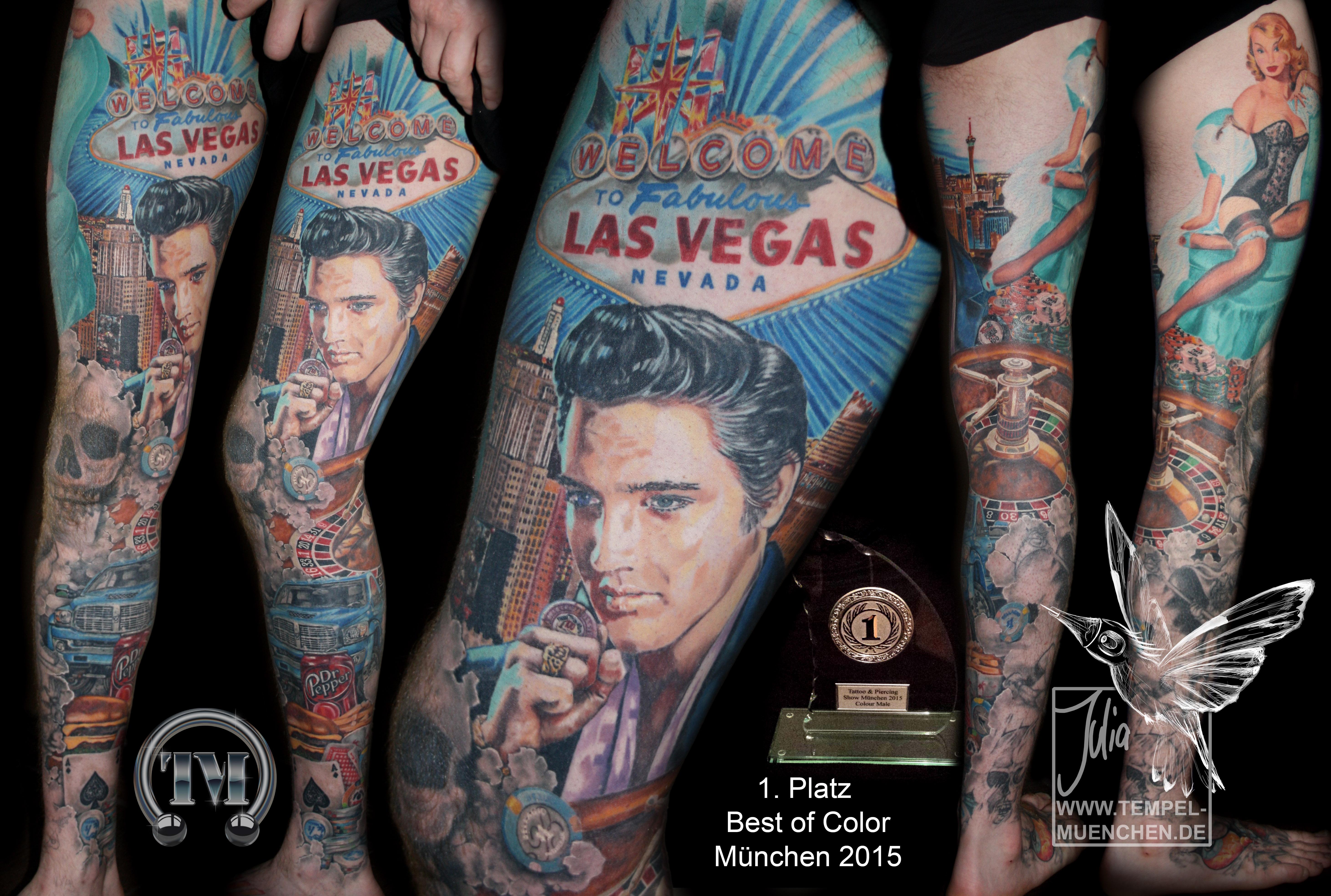 Julia bauer certified artist for Las vegas tattoo