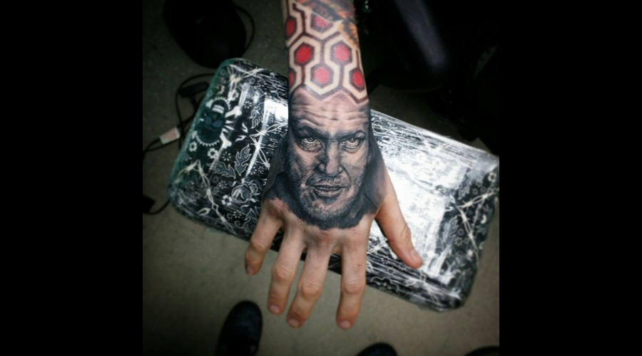 Handtattoo  Portrait  Horror  Famous Forearm