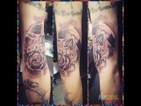 Tattoo  Arm   Blackgray  Ink  Love Black Grey Arm