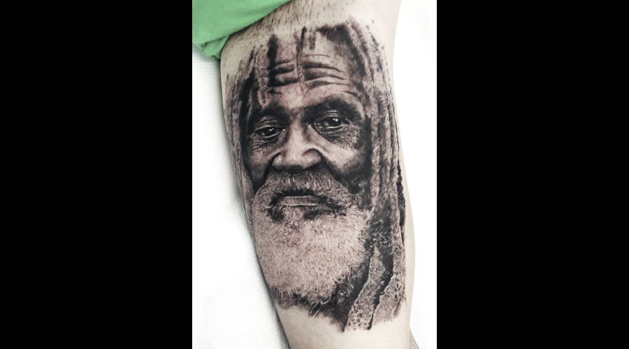 Portrait  Realistic Tattoo Arm