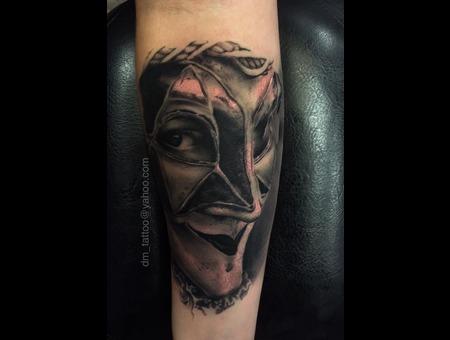 Venetian  Mask  Realism  Realistic Forearm
