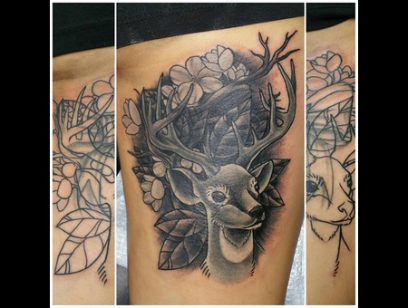 Cover Up Thigh