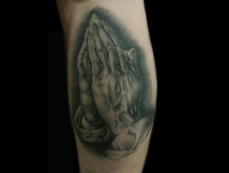 Healed  Praying Hands  Realism Lower Leg