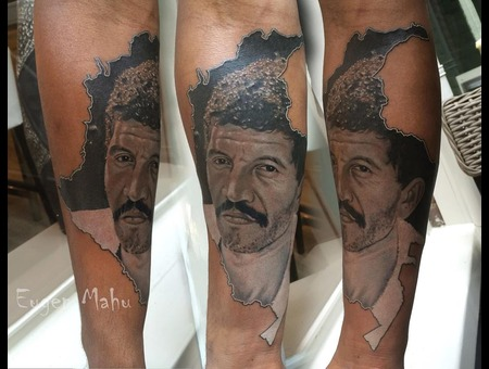 Tattoo  Realstic  Realism  Art  Portrait