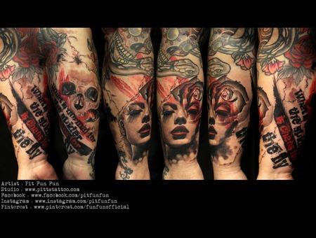 Design/Tattoo By Pit Fun Www.Facebook.Com/Pitfunfun Forearm
