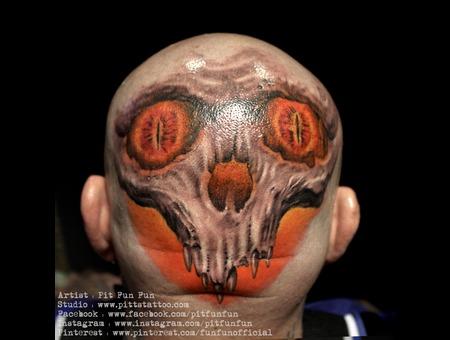 Design/Tattoo By Pit Fun Www.Facebook.Com/Pitfunfun Head