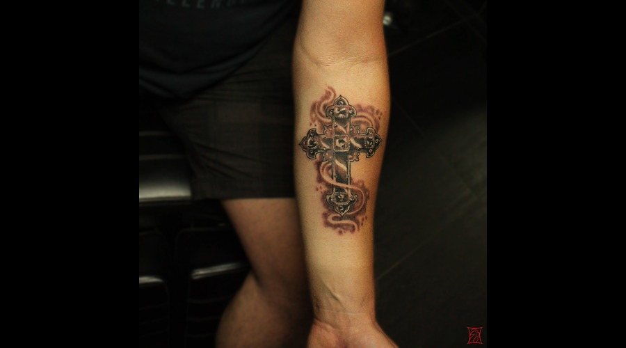 Tattooartist Montreal Gabor Zsil Forearm