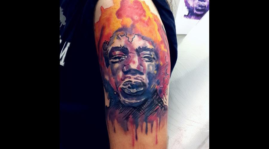 Colored Portrait  Shoulder