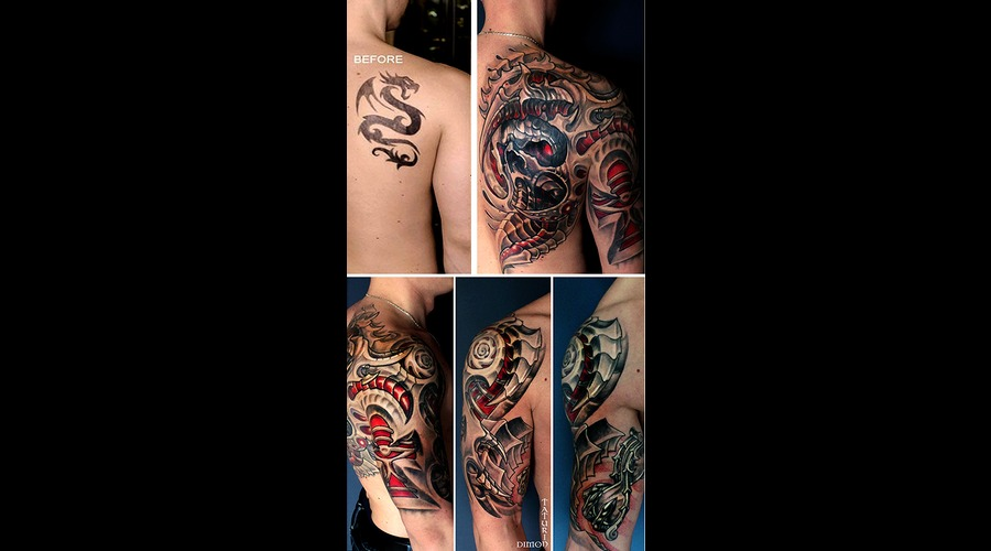 Cover Up By Dimon Taturin Back