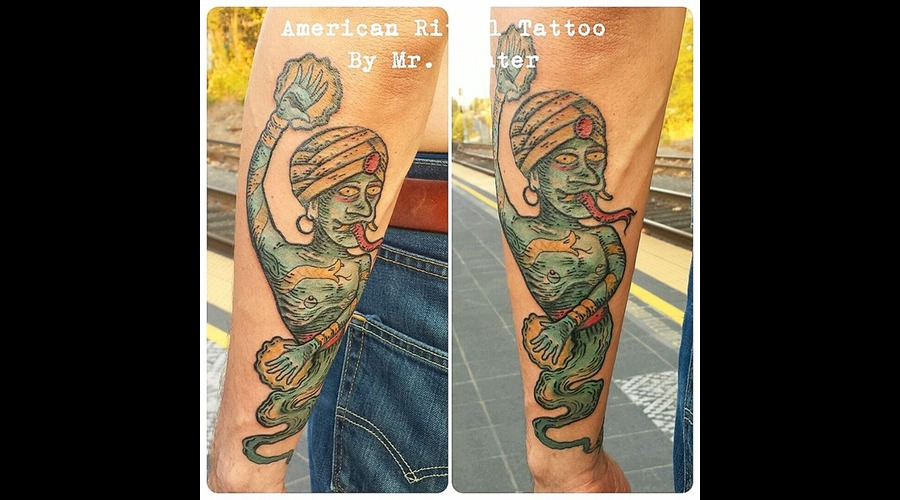 Traditional  Neotraditional  Genie  Silly  Psychedelic  420   Forearm